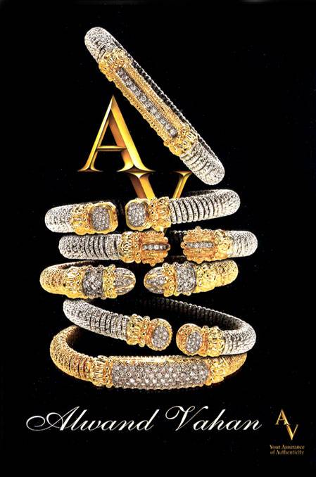 Alwand Vahan Designer Makes Splash in Jewelry Industry more @ www.jonesandson.com