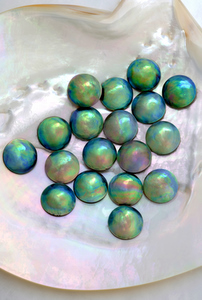 Rare and Exotic Blue Eyris Pearls