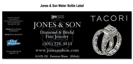 Jones and Son Bottled Water