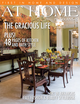 At Home in Arkansas Cover 2008
