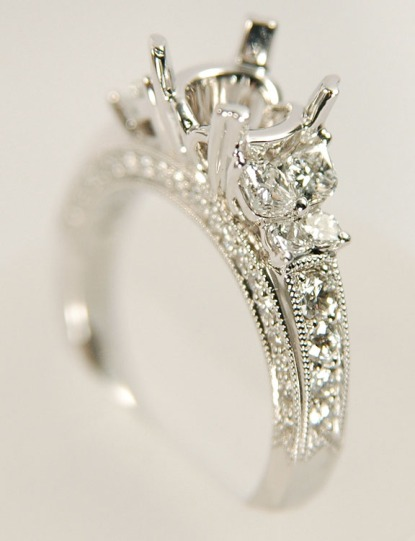 Calla Cut Rings at Jones and Son