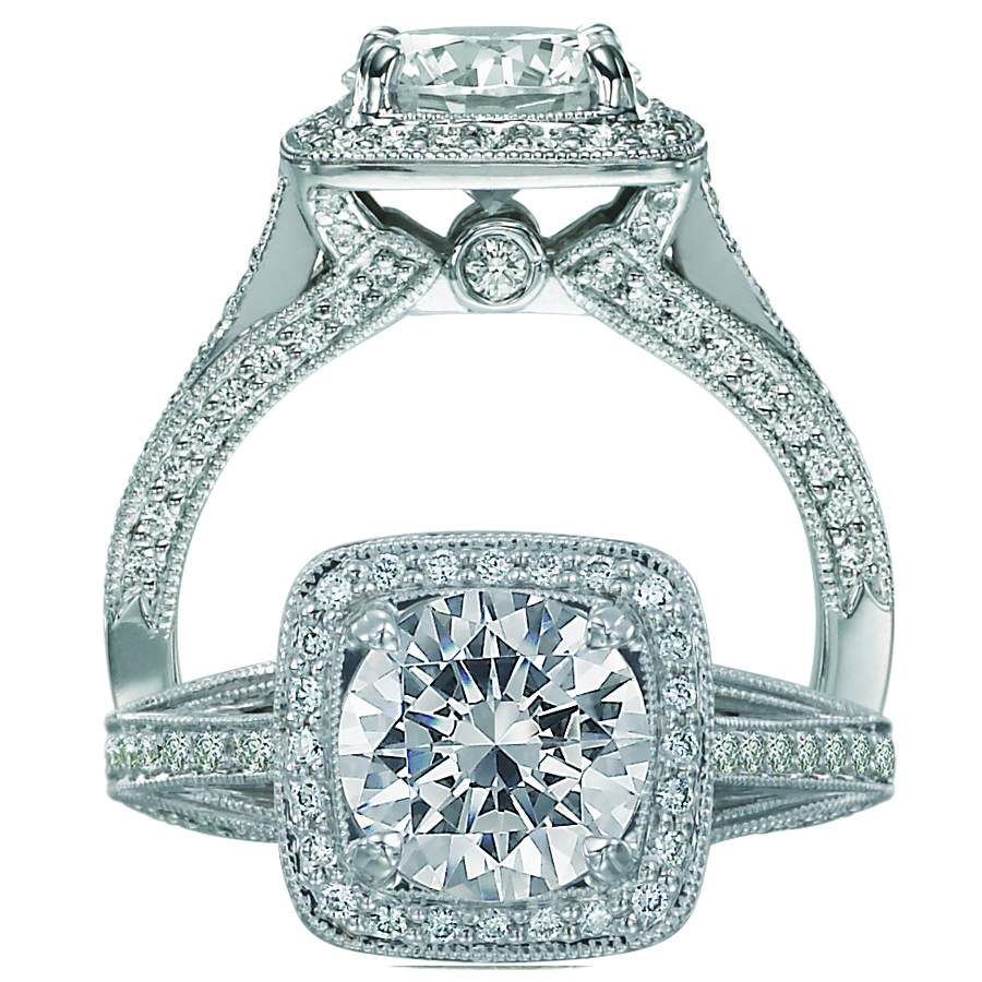 ritani engagement rings are featured at jones son diamond bridal